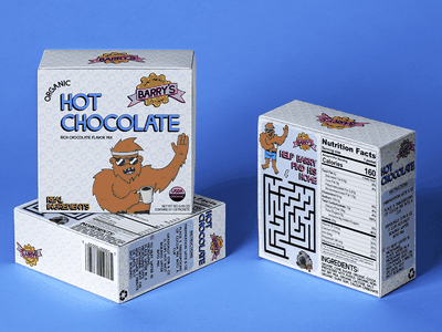 Packaging for Hot Chocolate logo packaging mockup adobe creative cloud hot chocolate branding graphic design packagingdesign packaging