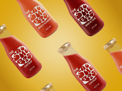 Brand identity and packaging concept for The Sauce Boss adobe creative cloud packagingdesign branding concept brand identity logo design packaging branding