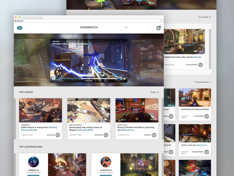 Plays.tv Game Page - Overwatch overwatch plays.tv