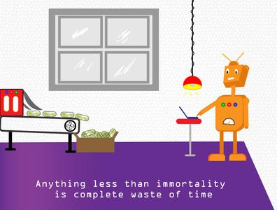 robot drawing   Illustrator   Digital Art