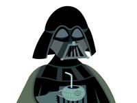 Darth Vader Star Wars Illustration