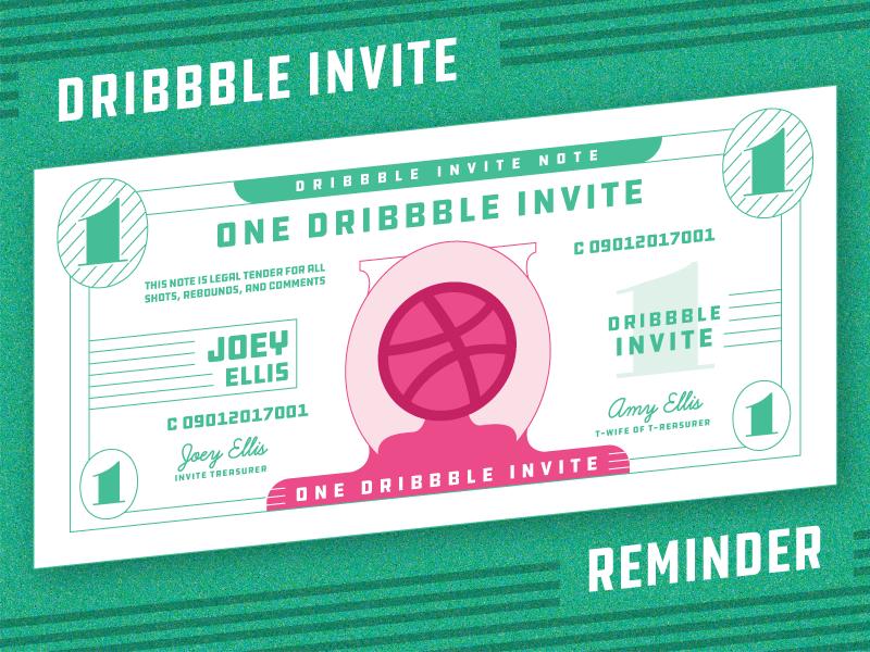 Superbowl dribbble invite reminder