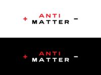 ANTIMATTER Logo Concepts