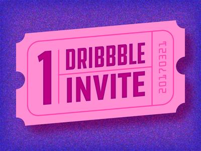 Birthday Dribbble Invite