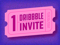 Birthday Dribbble Invite