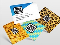 Joey Ellis Design Business Cards