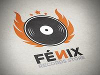 Fenix Records Store Logo