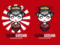Sushi Geisha Logo