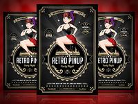 Retro Pinup Flyer