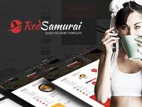 Red Samurai HTML Template
