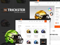 The Trickster PSD Template