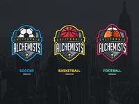 Alchemists Sports Logos