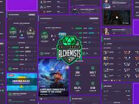 Alchemists Esports Widgets