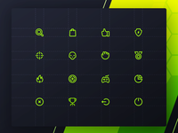 Necromancers PSD Gaming Icons