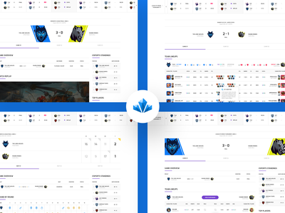 Pixel Diamond - Match Overview twitch stream streamer stats player team website html ui magazine news forum shop badge logo sports game gaming esport