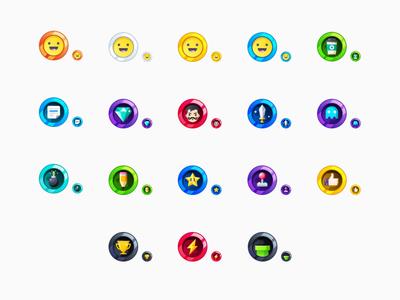 Pixel Diamond HTML Forum Badges