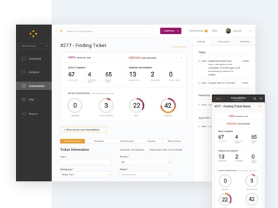 Security App Dashboard