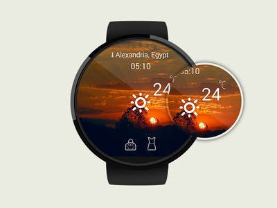 SkyWeather moto ui ux androidwear