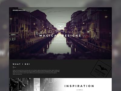 Mohamed S. Hegazy ui ux logo minimal branding design identity minimalist web website