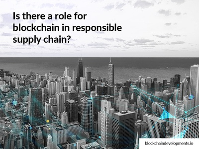 What is the role of Blockchain in supply chain management?