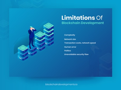 Limitation of Blockchain Development