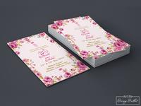 Aarohi & Mohit Wedding Card Design.