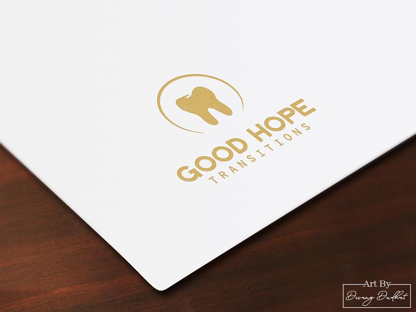Good Hope Transitions Logo Design. art type website minimal graphic design character web app icon lettering illustrator logo design animation brochure design design vector typography illustration branding logo