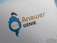 Answer Genie Logo Design