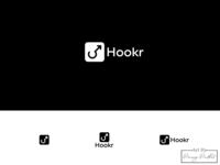 Hookr logo design