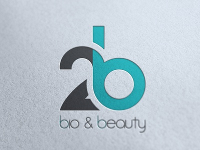 Logo // 2b // Bio & Beauty logo 2b bio beauty