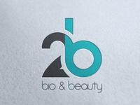 Logo // 2b // Bio & Beauty