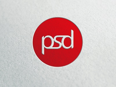 PSD // Pagnozzi Solutions Design logo psd red