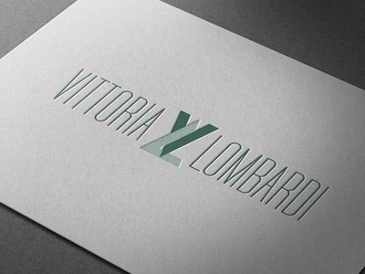 Logo // VL // Vittoria Lombardi