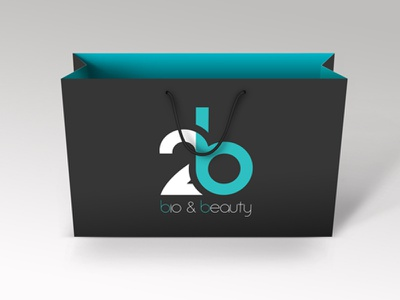 Logo // 2b // Bio & Beauty logo 2b beauty bio