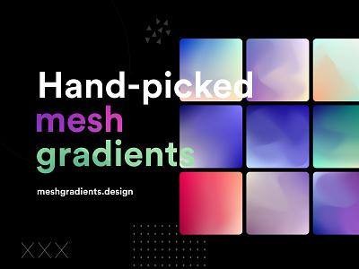 100 Free Mesh Gradients mesh colors color inspiration free gradients mesh gradients gradients mesh