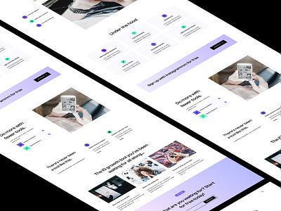 SaaS Blocks - Clash Theme - Website UI Kit clean design website saas startup minimal theme template