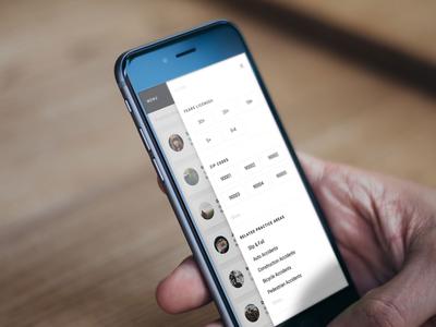 Mobile Filter Menu off-canvas side menu mobile side menu mobile menu filter menu