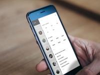 Mobile Filter Menu
