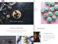 MSNL - Pastry Blog Page Sketch Freebie