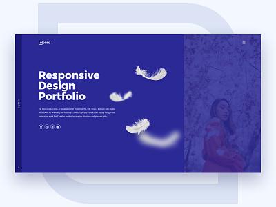 Porto - Portfolio WordPress Theme freebie free theme wordpress template purple portfolio