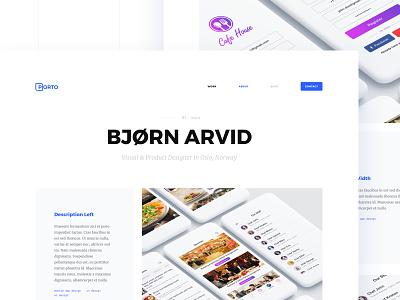 Porto 2.0 concept portfolio-theme portfolio wordpress-theme