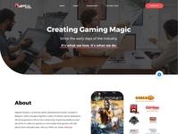 Gaming Studio Website