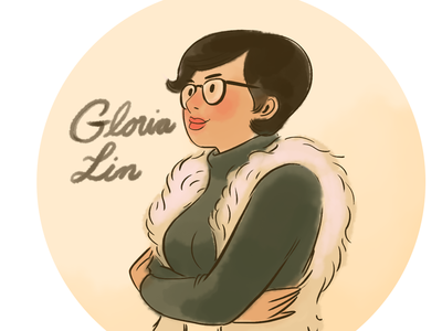 Gloria Lin Portrait series