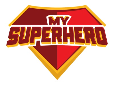 My Superhero emblem shield hero super superman superhero