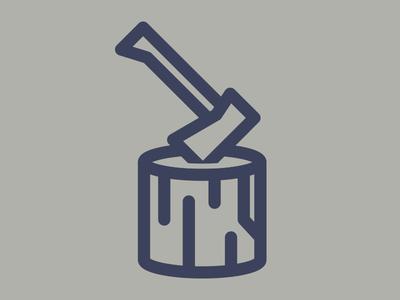 Lil' Hatchet monoweight icon log hatchet