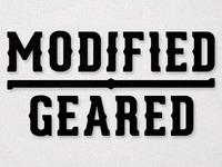 Modified Geared