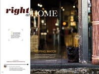Magazine Layout Design - two-page spread