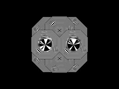 X Face Illustration