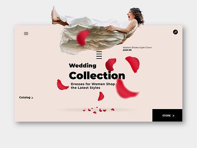 Bride ux design website design web design illustraion typography vector illustration freelance design uxdesign webdesign website