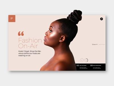 Women's Clothing Concept Work ux web design website design illustraion website ux design illustration webdesign uxdesign freelance design